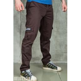 "Милитари брюки Белояр ""Wend"" темно-коричневые"