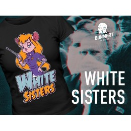 "Футболка BonMart ""White Sisters"" черная"