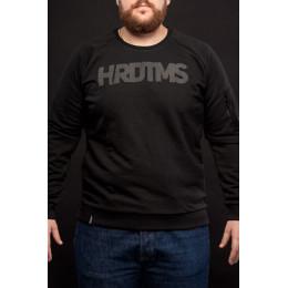 """Свитшот HardTimes """"HRDTMS"""" черный"""