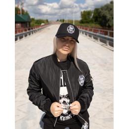 Женский бомбер Своя Культура «БСК1» черный