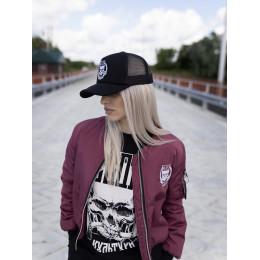 Женский бомбер Своя Культура «БСК1» бордо