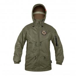 Куртка на молнии Варгградъ мужская хаки (без флиса)