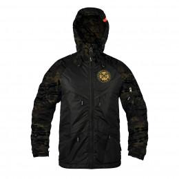 Куртка на молнии Варгградъ мужская Sfagnum Black/Black (без флиса)