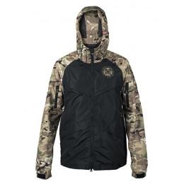 Куртка на молнии Варгградъ sfagnum/чёрная (на флисе)