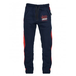 Спорт-брюки с лампасами Варгградъ тёмно-синие (с/н)